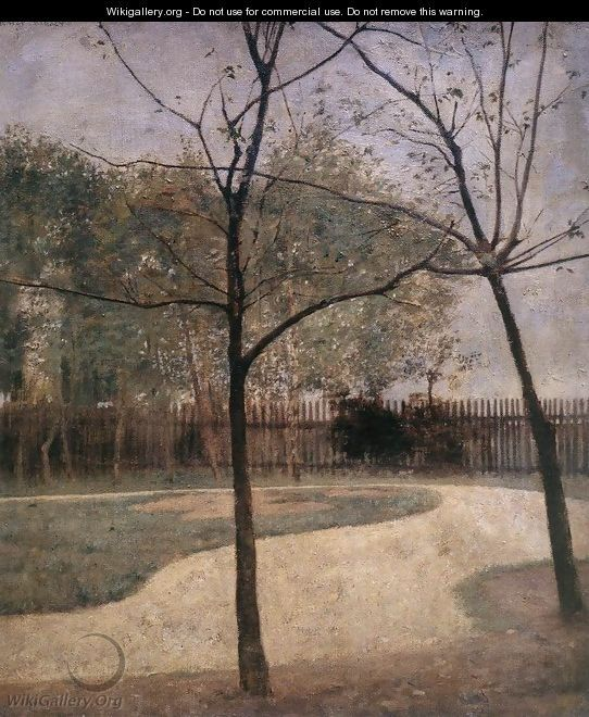 Part of a Garden 1893 - Karoly Ferenczy