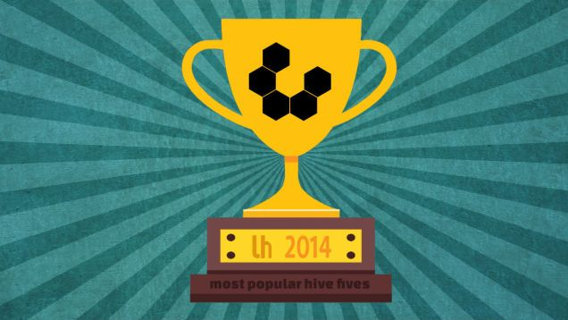 Most Popular Hive Fives of 2014