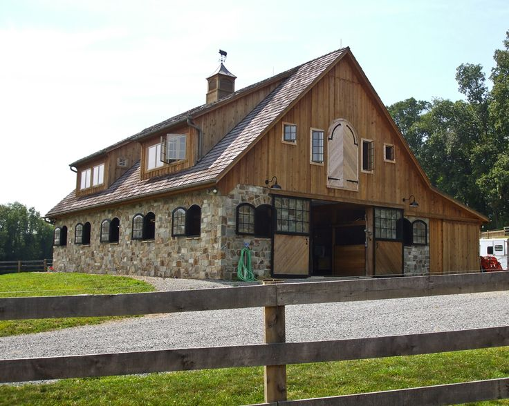 Horse Stables And Barns : Images about dream barns on pinterest indoor arena