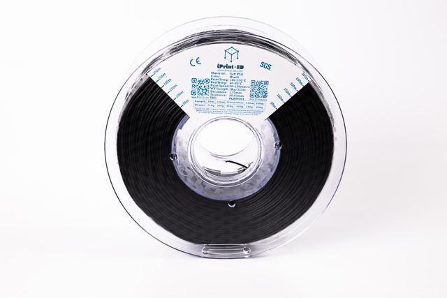 Black PLA Premium 3D Filament