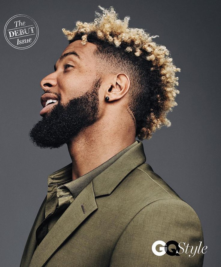 """#regram @gqstyle """"The debut issue of the all-new @GQStyle arrives in THREE days. Today's preview: NY Giants game-breaker @iam_objxiii aka Odell Beckham Jr. ( @jasonkibblerstudio) by gq"""
