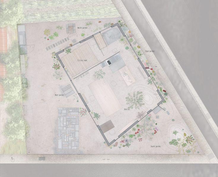 atelier tenjinyama by ikimono architects exposes the elements