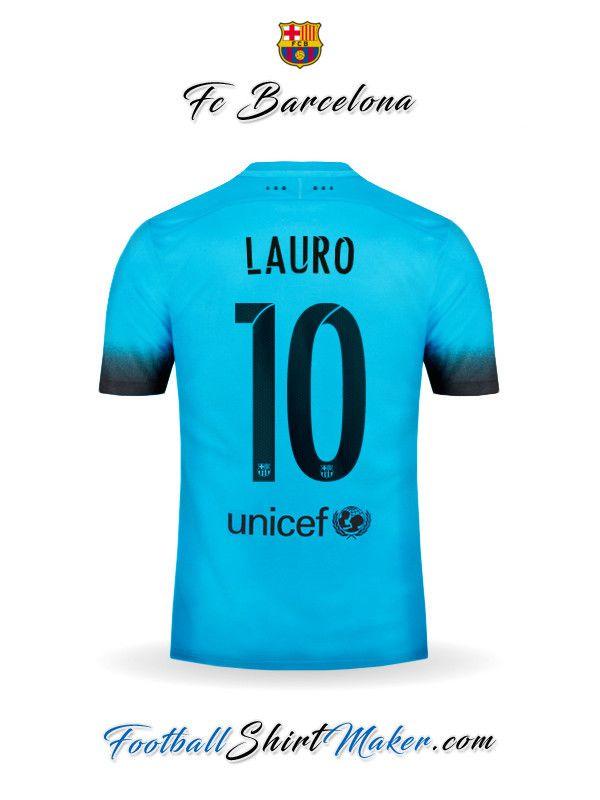 Camiseta FC Barcelona 2015/2016 Tercero Lauro 10