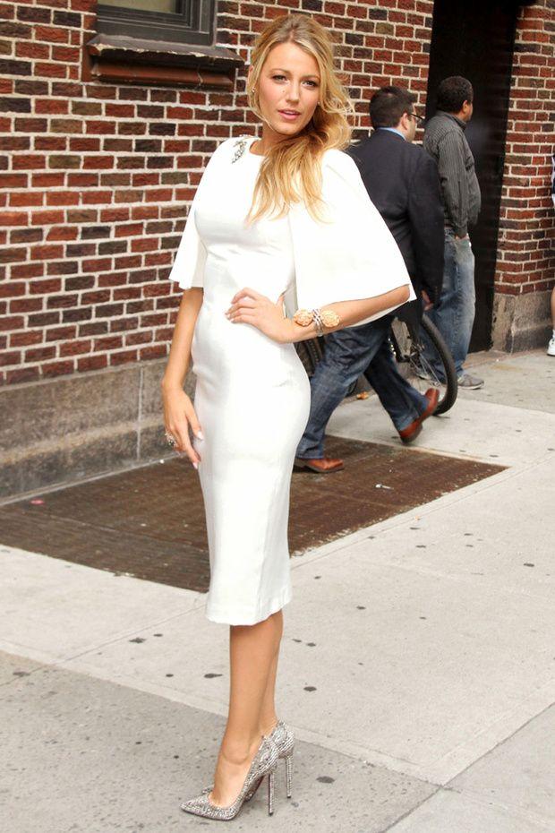 Blake Lively/ White dress