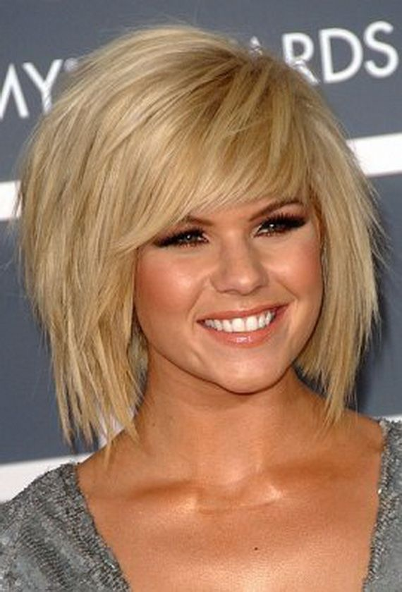 short to medium haircuts 2012Womens short blonde hairstyles for 2013 ...