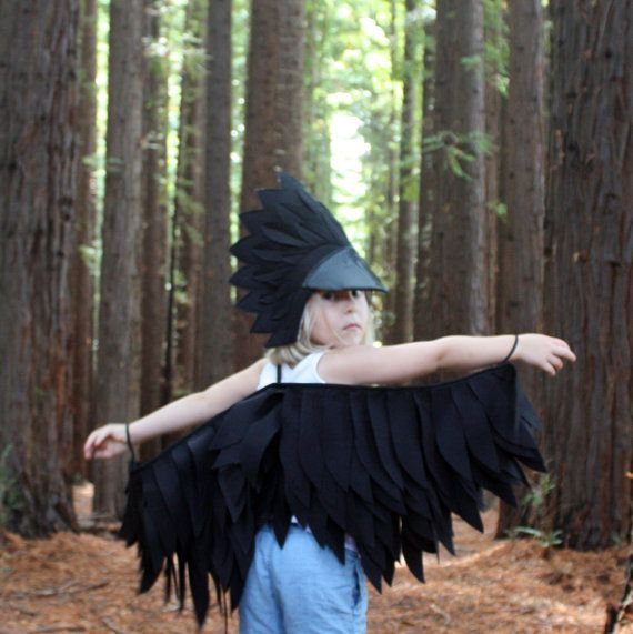 The Raven Handmade Children's Costume
