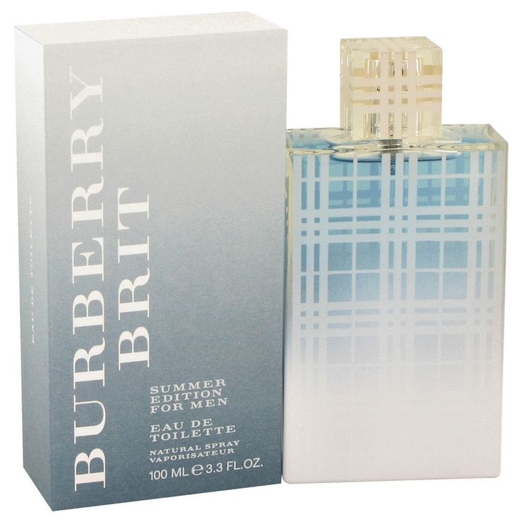 Burberry Brit Summer  3.3 oz Cologne By Burberry for Men