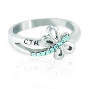 Dragonfly CTR Ring | Ringmasters LDS Jewelry