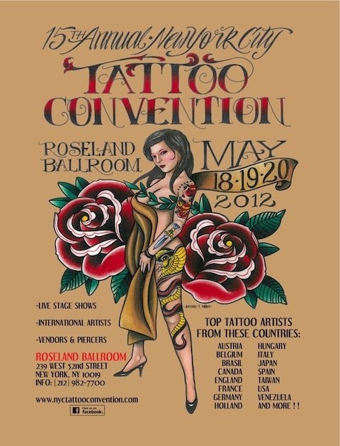 NYC TATTOO CONVENTION MAY 18-20