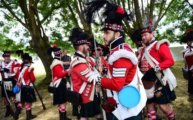 Video: Battle of Waterloo relived: the sound a fury of a Napoleonic war…