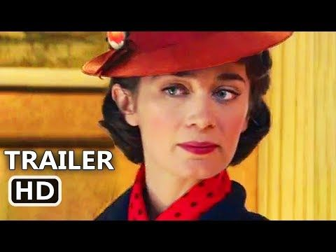 MARY POPPINS RETURNS Official Trailer (2018) Emily Blunt, Disney Movie HD - YouTube