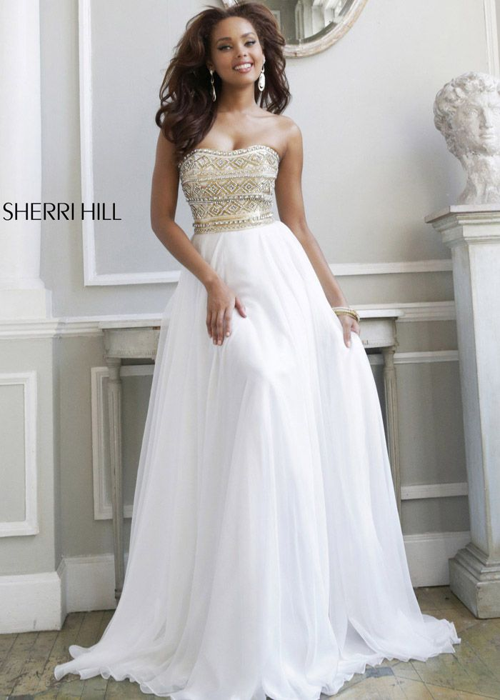 Dorable White Long Prom Dresses 2014 Picture Collection - Wedding ...