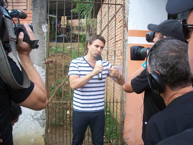 Avião Faustão em Registro-SP com Murilo Rosa veja as fotos