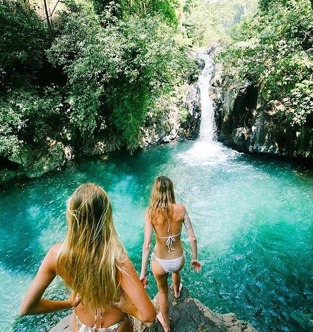 baliadvisorThe first step is always the hardest... let's jump in this amazing waterfall! Located: Aling Aling Kroya Waterfall ,Sambangan, Singaraja @jyetylr @balicili @shannontayloor ************************************************** ✔Share your moments in Bali with #baliadvisor! Help us fight the plastic waste problem in Bali! Sign the petition on our Facebook, URL in bio