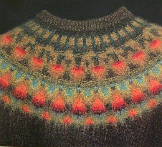 The Wild Apple by Kerstin Olsson of Bohus Stickning Extraordinary Yoke