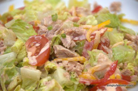 Salata de ton cu dressing Thousand Island   Simplu Feminin