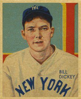 Bill Dickey | 1935 Diamond Stars Bill Dickey #103 Baseball Card Value Price Guide