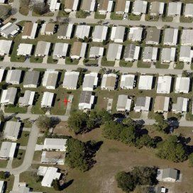 Vacant land for sale, luxury mobile home community in Daytona Beach, Florida