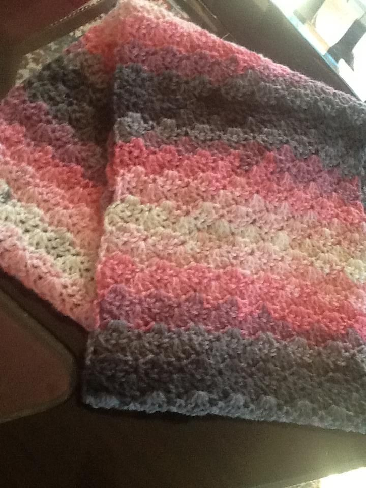 multicolour infinity scarf