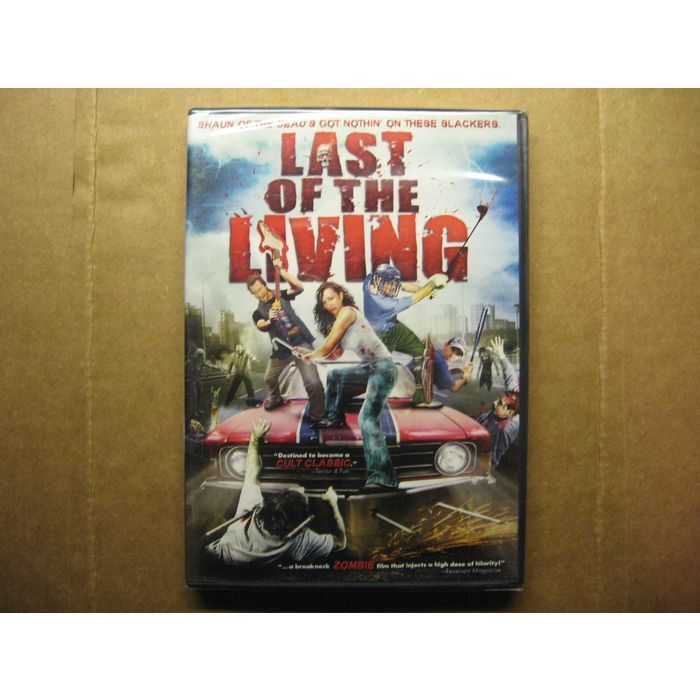 Last of the Living Black Comedy Zombie Movie DVD Morgan Williams Ashleigh Southam Robert Faith  #lastoftheliving #zombies #undead #movies #blackcomedy #dvd #new #ebid