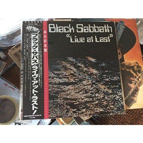 BLACK SABBATH--Live at Last [Vinyl]