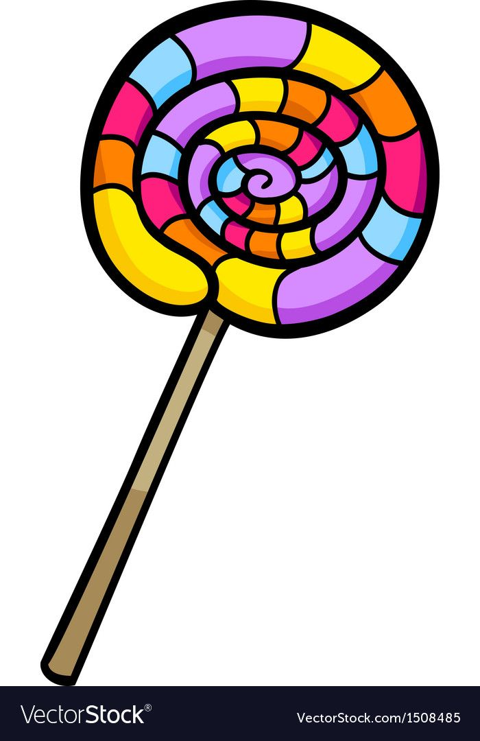 Cartoon Illustration Of Sweet Lollipop Clip Art Download A Free Preview Or High Quality Adobe Illustrator Ai Clip Art Cartoon Illustration Blog Illustrations