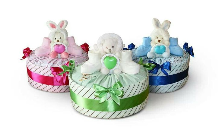 Collection S together (nappy cake)