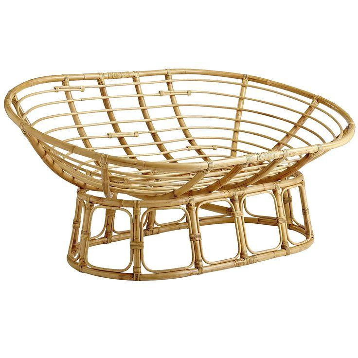 Papasan Double Chair Frame - Natural - Lacquer  sc 1 st  Pinterest & 69 best *Arm Chairs Recliners u0026 Sleeper Chairs u003e Arm Chairs ... islam-shia.org