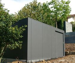 Design Garten- und Gerätehaus Metall                              …