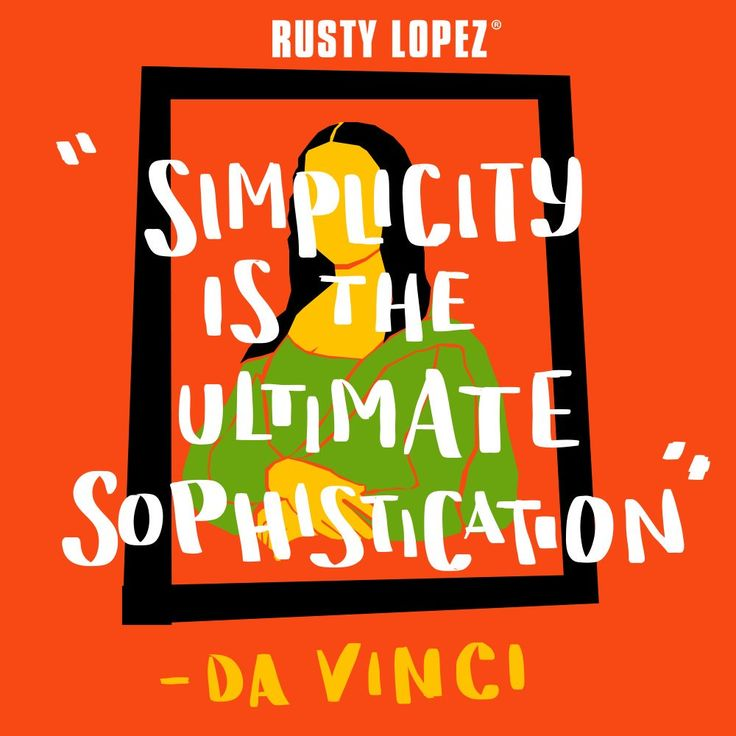 RT @RustyLopezshoes: Follow Da Vinci's quote and keep it simple! #Genuinelylocal #RustyLopezshoes #RustyLopez #fashion #shoeaddict https://t.co/4oO3VXK26b