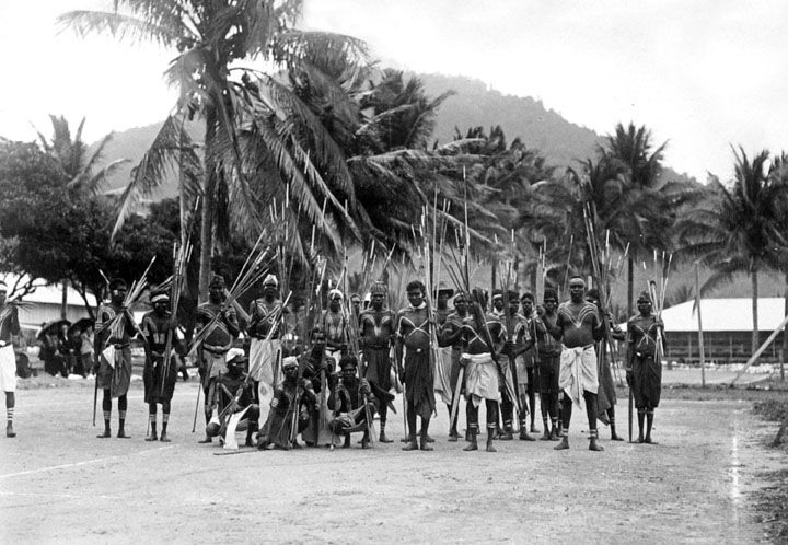 File:Queensland State Archives 1380 Palm Island natives in war ...