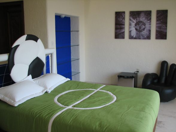 What a cool bedspread!  Facebook: facebook.com/FloridaYouthSoccer  Twitter: @FYSA Soccer  Website: www.fysa.com