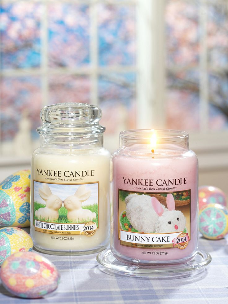 yankee-candle-bunny-cake-white-chocolate-ambiance-easter-collector-giveaway un concours qui sent très bon !