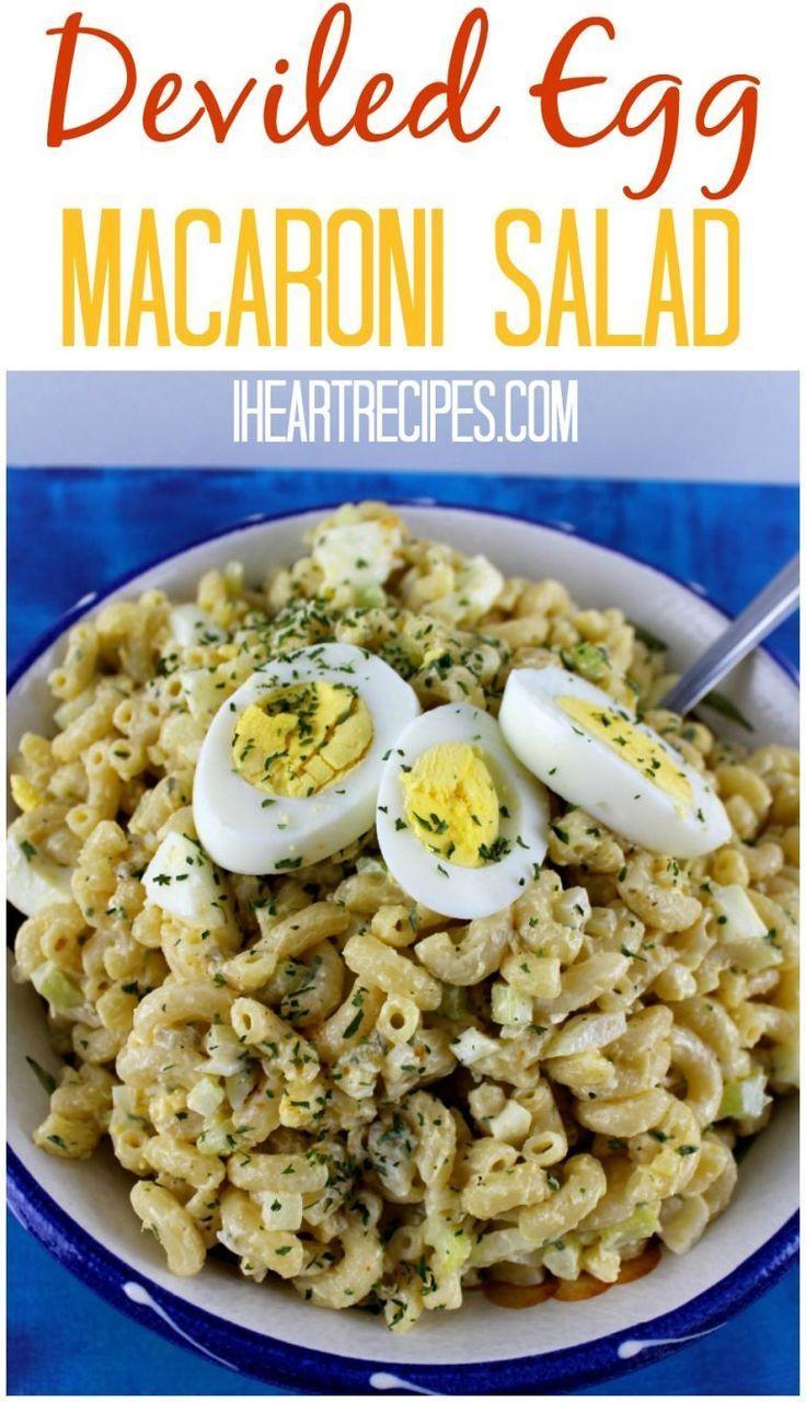 Deviled Egg Macaroni Salad