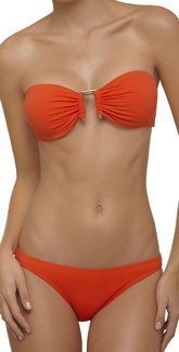 The Top is really pretty and different.: Bandeau Bikini, Arriba Swimsuits, Summertime, South Beach, Coral Bikini