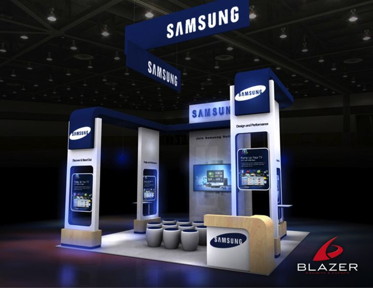 Samsung Exhibition Stand Design : Samsung booth design by blazer exhibits events