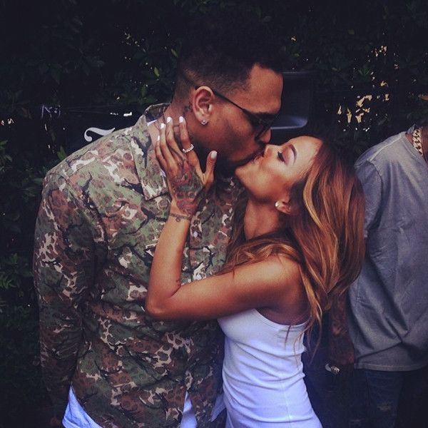 Did Chris Brown and Karrueche Tran Get Back Together? Singer Posts Ex-Girlfriend's Photo for Woman Crush Wednesday