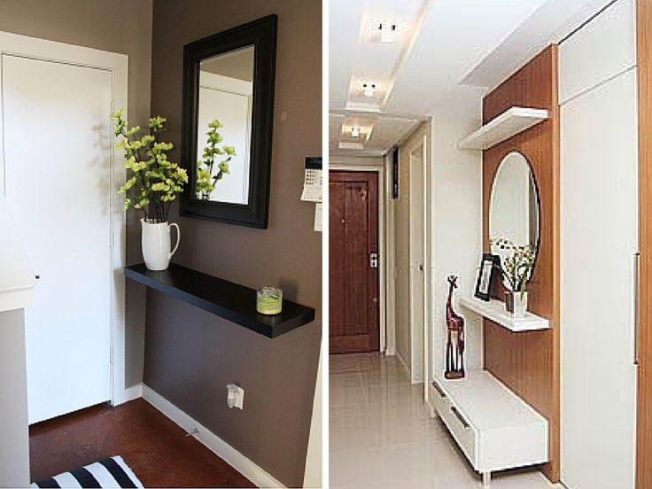 Hall d entrada para apartamentos pequenos                                                                                                                                                                                 Mais