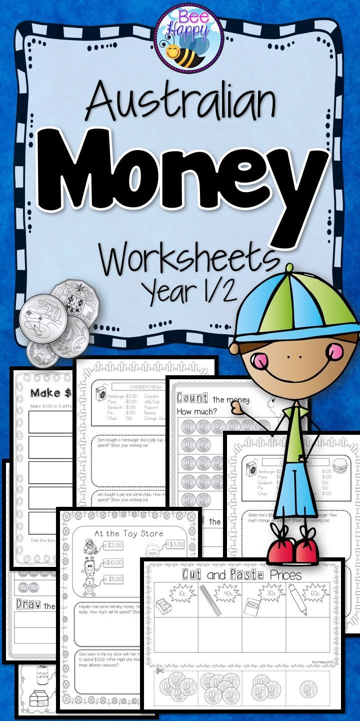 worksheet Practical Money Skills Worksheets best 25 money worksheets ideas on pinterest counting coins 30 australian for year 12 that require no preparation whatsoever just