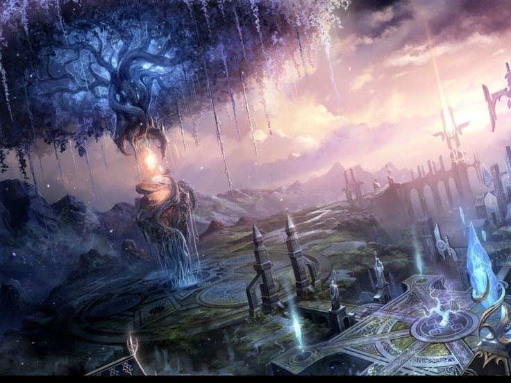 fantasy land scapes   fantasy landscape pics   land ...