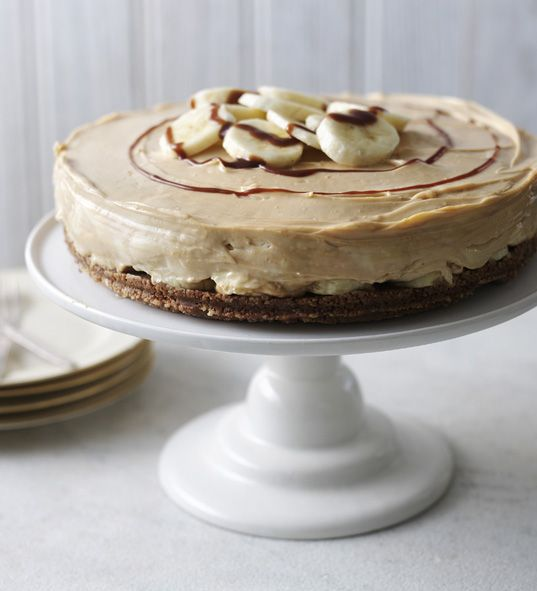 Banoffee pie in cheesecake form is the ultimate twist on this indulgent pud.
