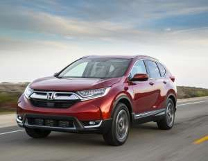 MSRP: $24,045 - $33,695 (Details Below)The 2017 CR-V, winner of our 2017 Best Compact SUV for Famili... - American Honda Motor Co., Inc.