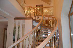 Лестница в доме. Architect Irina Richter. INSIDE-STUDIO Prague