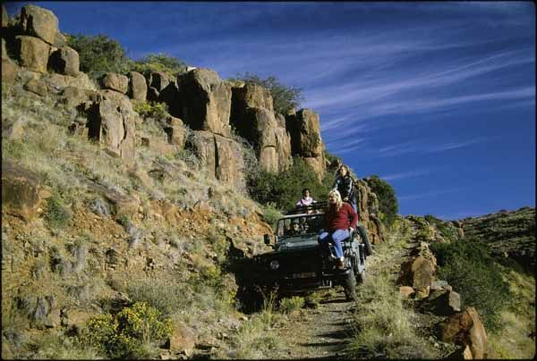Trail at the Karoo National Park