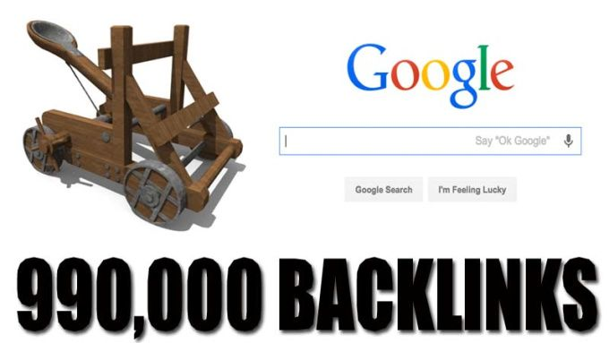 catapult 990K Backlinks, Alert Negative SEO Impact by theseahawk