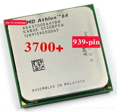 Lifetime warranty Athlon 64 3700+ 2.2GHz desktop processors CPU Socket 939 pin 3700