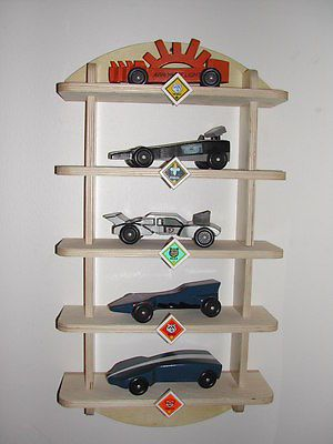 Pinewood-Derby-Shelf-Display-Kit-Cub-Scout-Boy-Scout-Woodworking