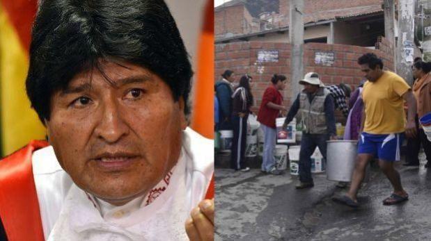 """Evo Morales: Escasez de agua """"es como un terremoto"""" en Bolivia"""