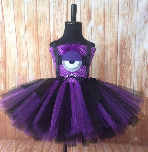 Evil Minion Tutu Dress