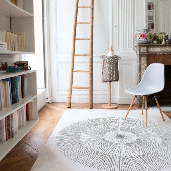Pissenlit Gris - Collection originale de tapis graphiques et design